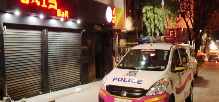 CCB raids on pubs in Bengaluru :