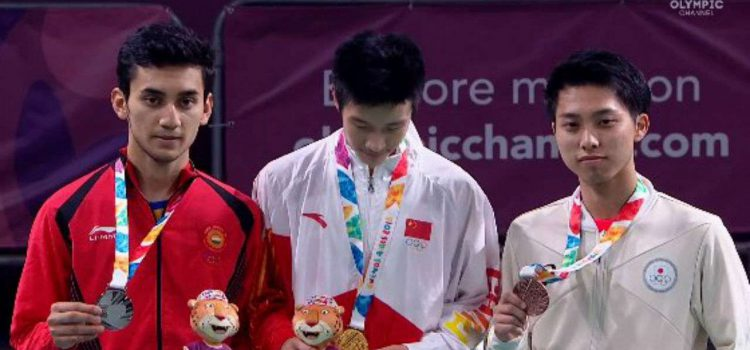 Lakshya Sen wins gold in mixed event at Youth Olympics 2018