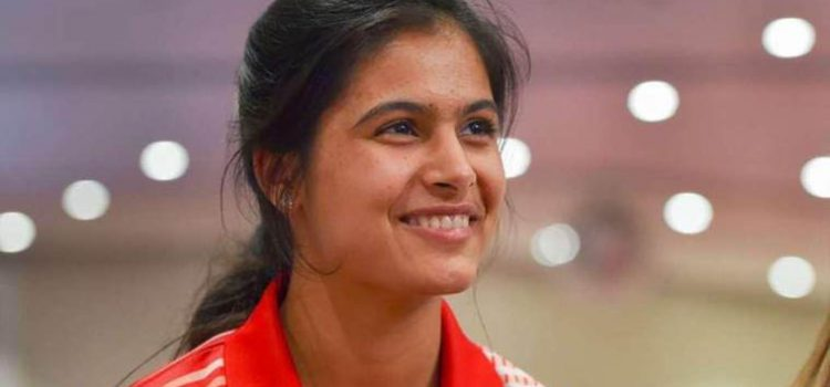 Manu Bhaker shoots gold in 10m pistol  at Youth Olympics