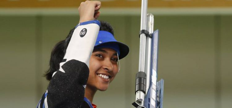 Shooter Mehuli Ghosh settles for silver in 10m air rifle