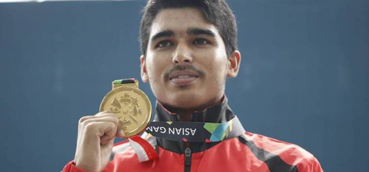 Sourabh Chaudhary won gold at the Youth Olympics Games