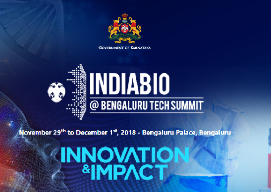 India Bio at Tech Summit 2018 will showcase the focus of the biotech industry through chosen innovation, theme and impact.