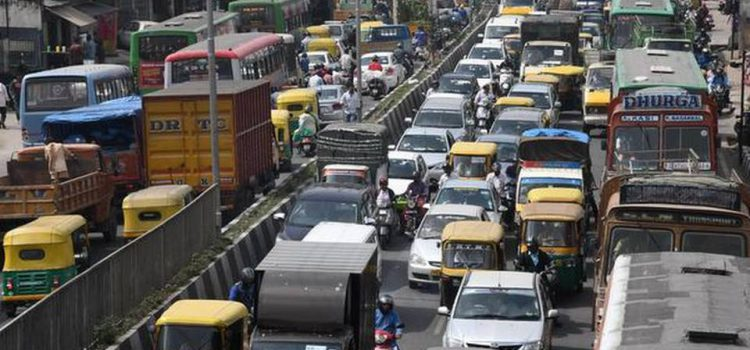 Vehicle population – choking Bengaluru city